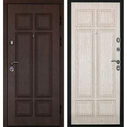 Входная металлическая дверь Дверной Континент Консул (Венге / Дуб беленый)