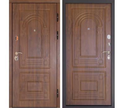 Входная дверь Дверной Континент Флоренция (Дуб золотой / Дуб золотой)