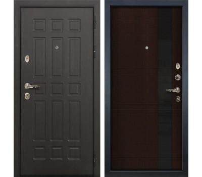 Входная металлическая дверь Лекс 8 Сенатор Новита Венге (панель №53)