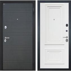 Входная дверь Интекрон Спарта Сан Ремо-1 (Венге / Сигнальный белый)