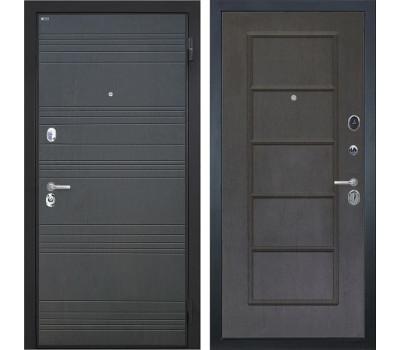 Входная металлическая дверь Интекрон Спарта ФЛ-39 (Венге / Орех премиум)