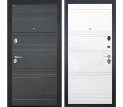Входная металлическая дверь Интекрон Спарта ФЛ-316 (Венге / Ясень белый)