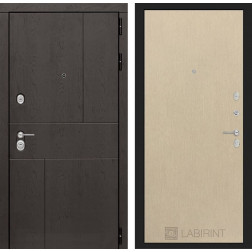 Входная металлическая дверь Лабиринт Урбан 5 (Венге светлый)