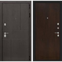 Входная металлическая дверь Лабиринт Урбан 5 (Венге)