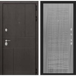 Входная металлическая дверь Лабиринт Урбан 6 (Сандал серый)