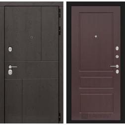 Входная металлическая дверь Лабиринт Урбан 3 (Орех премиум)