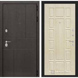 Входная металлическая дверь Лабиринт Урбан 12 (Дуб беленый)