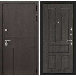 Входная металлическая дверь Лабиринт Урбан 10 (Дуб филадельфия графит)