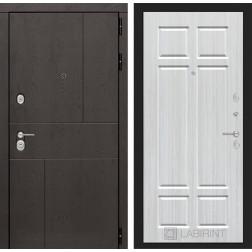 Входная металлическая дверь Лабиринт Урбан 8 (Кристалл вуд)