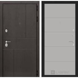 Входная металлическая дверь Лабиринт Урбан 13 (Грей софт)