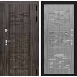 Входная дверь Лабиринт Сканди 6 (Дарк Грей / Сандал серый)