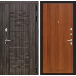 Входная дверь Лабиринт Сканди 5 (Дарк Грей / Итальянский орех)