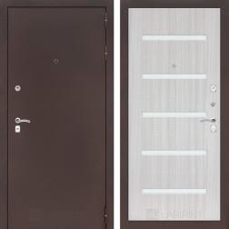 Входная дверь Лабиринт Классик 1 (Антик медный / Сандал белый)