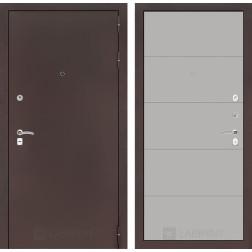 Входная дверь Лабиринт Классик 13 (Антик медный / Грей софт)