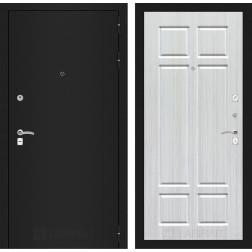 Входная дверь Лабиринт Классик 8 (Шагрень черная / Кристалл вуд)