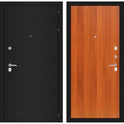 Входная дверь Лабиринт Классик 5 (Шагрень черная / Итальянский орех)