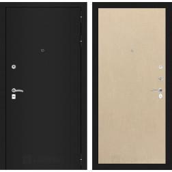 Входная дверь Лабиринт Классик 5 (Шагрень черная / Венге светлый)