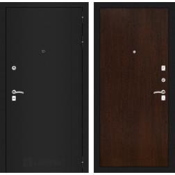 Входная дверь Лабиринт Классик 5 (Шагрень черная / Венге)