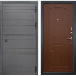 Входная дверь Лекс Сенатор 3К Софт графит (№11 Береза мореная)