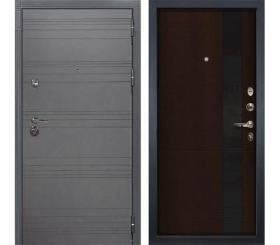 Входная дверь Лекс Сенатор 3К Софт графит Новита (№53 Венге)