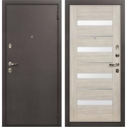 Входная стальная дверь Лекс 1А Сицилио (№48 Ясень кремовый)
