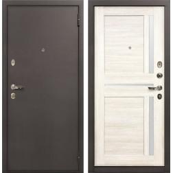 Входная стальная дверь Лекс 1А Баджио (№47 Дуб беленый)