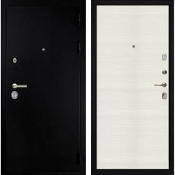 Входная металлическая дверь Дива C-505 (Титан / Белое дерево)