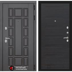 Входная металлическая дверь Лабиринт Нью-Йорк 14 (ЭкоВенге)