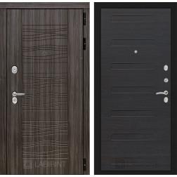 Входная металлическая дверь Лабиринт Сканди 14 (Дарк Грей / ЭкоВенге)