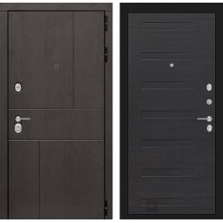 Входная металлическая дверь Лабиринт Урбан 14 (ЭкоВенге)