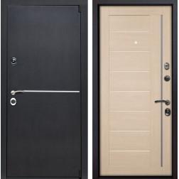 Входная металлическая дверь Римини X17 (Венге патина / Капучино Мелинга)