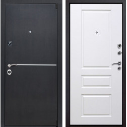 Входная металлическая дверь Римини Версаль (Венге патина / Белый)