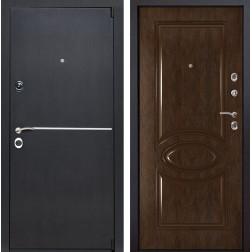 Входная металлическая дверь Римини 70 (Венге патина / Каштан)