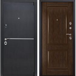 Входная металлическая дверь Римини 71 (Венге патина / Каштан)