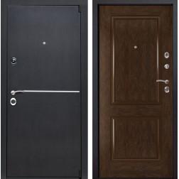 Входная металлическая дверь Римини 72 (Венге патина / Каштан)