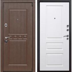 Входная металлическая дверь Сарбона Версаль (Венге патина / Белый)