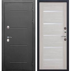 Дверь с терморазрывом Изотерма (Антик серебро / Лиственница беж)