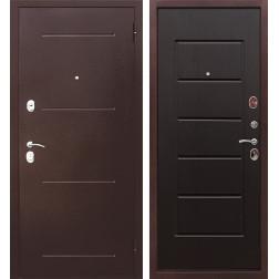 Входная металлическая дверь Гарда 75 (Антик Медь / Венге)