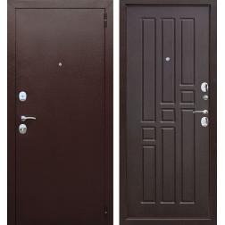 Входная металлическая дверь Гарда 60 (Антик Медь / Венге)