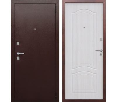 Входная металлическая дверь Доминанта (Антик Медь / Ясень белый)