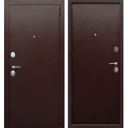 Входная металлическая дверь Гарда 60 (Антик Медь / Антик Медь)