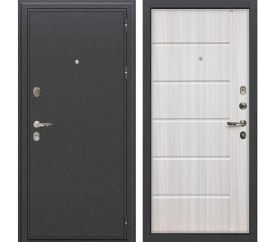 Входная металлическая дверь Лекс Колизей Сандал белый (панель №42)