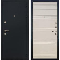 Входная металлическая дверь Лекс 2 Рим Дуб фактурный кремовый (панель №63)