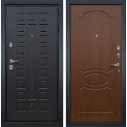 Входная металлическая дверь Лекс Гладиатор 3К Берёза мореная (панель №12)