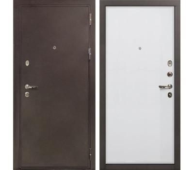 Входная металлическая дверь Лекс 5А Цезарь Ясень белый (панель №62)