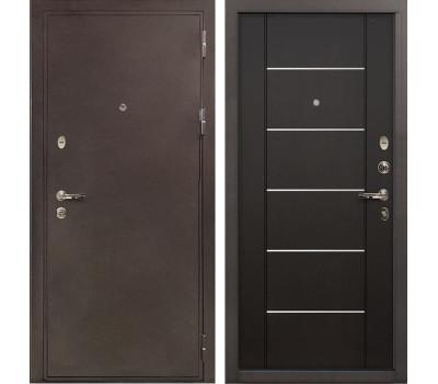 Входная металлическая дверь Лекс 5А Цезарь Молдинг Венге (панель №24)
