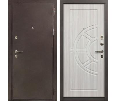 Входная металлическая дверь Лекс 5А Цезарь Сандал белый (панель №44)
