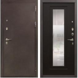 Входная металлическая дверь Лекс 5А Цезарь с Зеркалом Венге (панель №22)