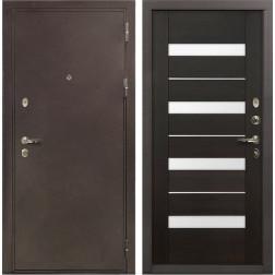 Входная металлическая дверь Лекс 5А Цезарь Сицилио Венге (панель №51)