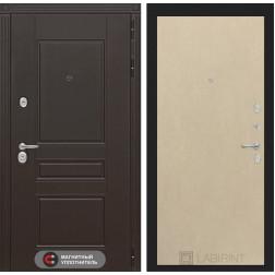 Входная металлическая дверь Лабиринт Мегаполис 5 (Венге светлый)